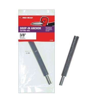 3/8 in. Solid Drop-In Anchor Setting Tool