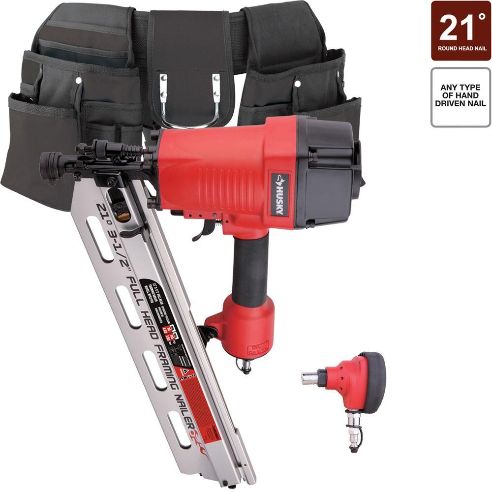 Husky 2-Piece Framing Kit with Tool Belt-DISCONTINUED