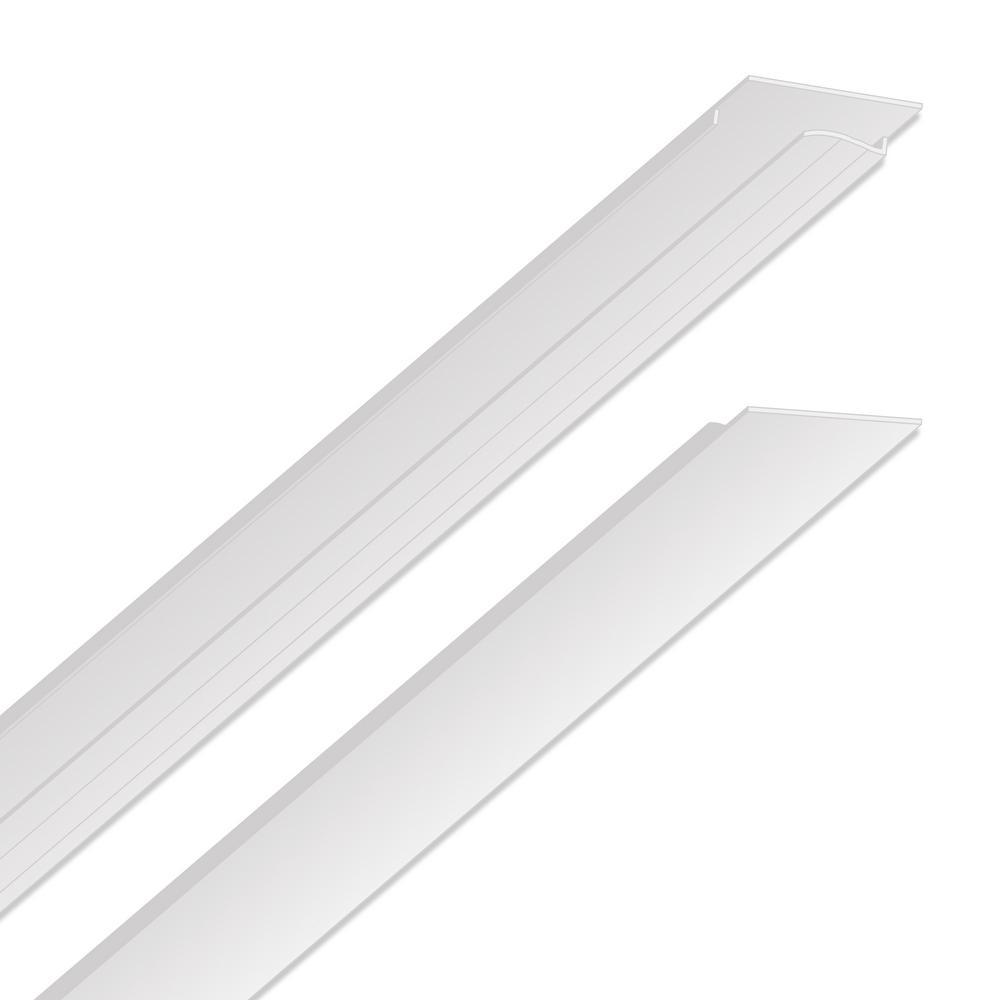 EZ-On Grid Cover Kit - Snap On - White - 52 sq. ft.