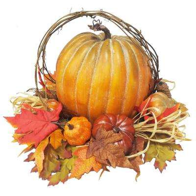 12 in. Pumpkin Decor