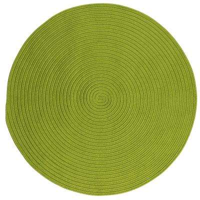Trends Limelight 4 ft. x 4 ft. Braided Round Area Rug