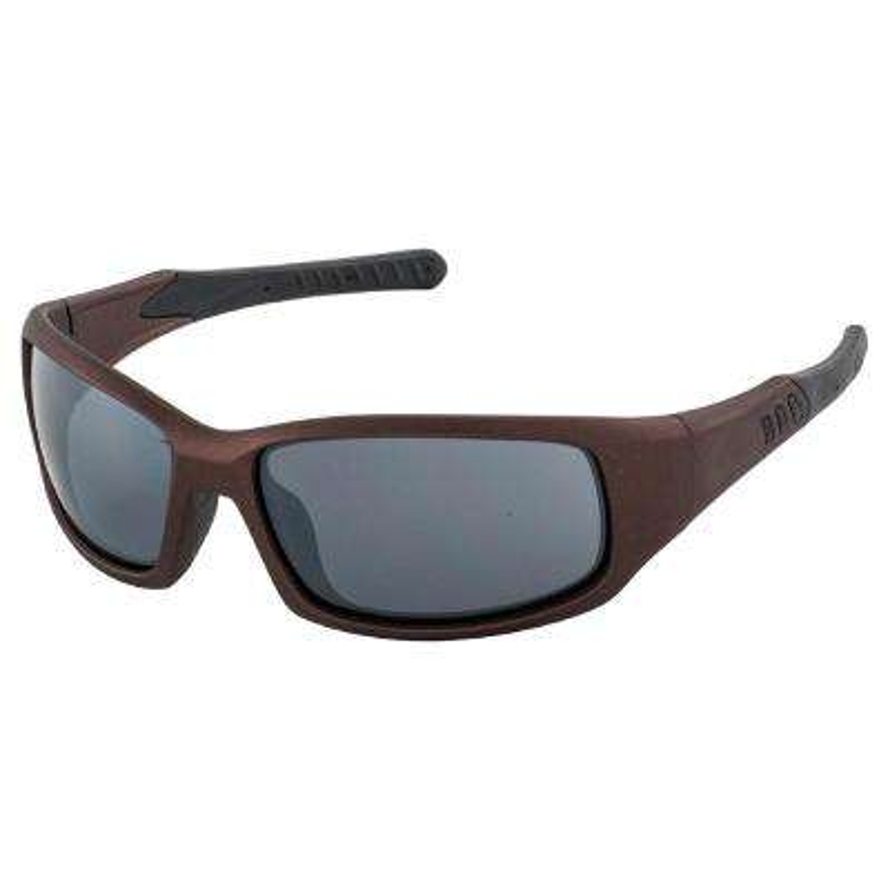 Free Ride Eyewear, Brown Metallic Frame/Gray Flash Mirror Lens