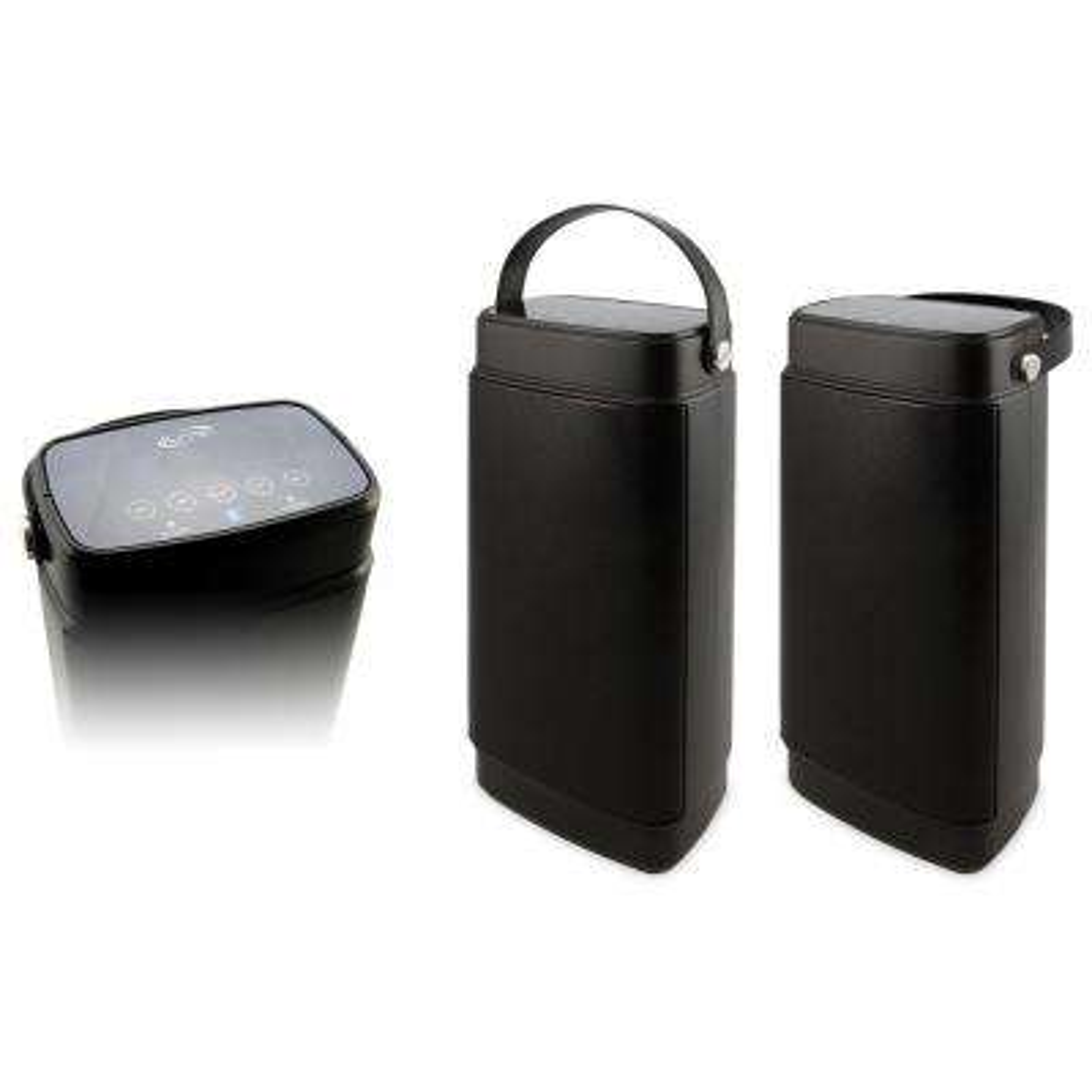 Dual Portable Bluetooth Water Resistant Speakers