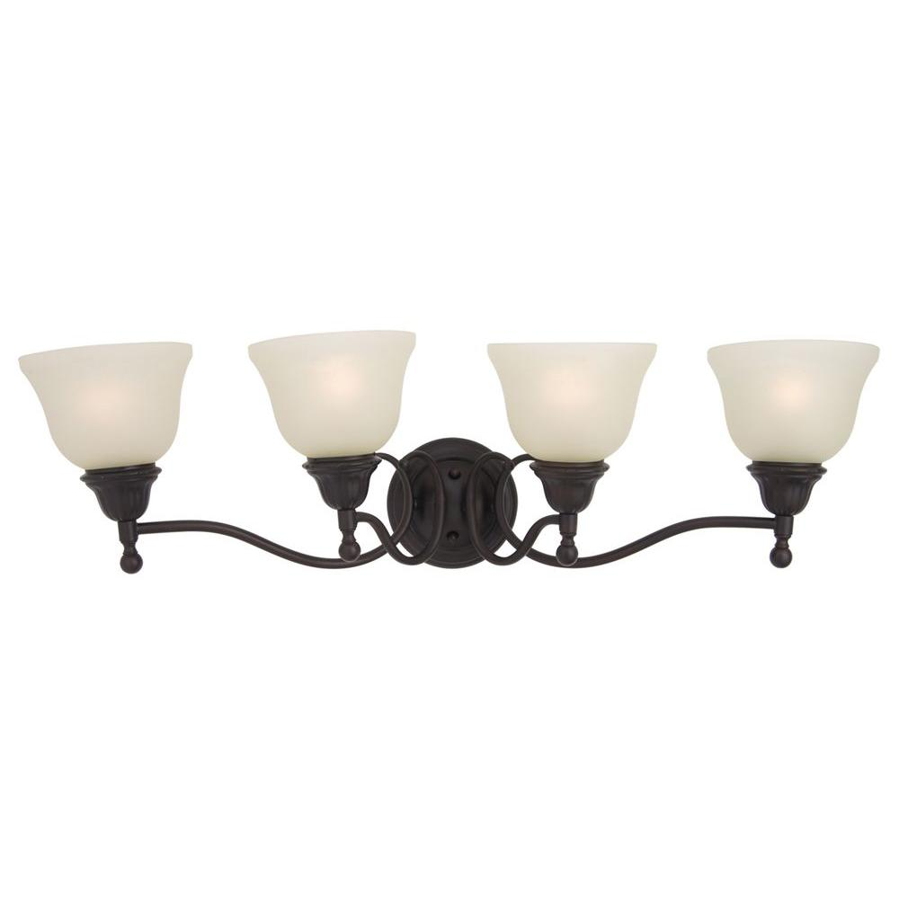 maxim lighting soho 4 light rubbed bronze bath vanity 26516