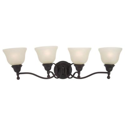 Soho 4-Light Oil-Rubbed Bronze Bath Vanity Light