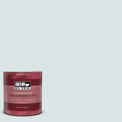 1 qt. #MQ3-51 Crystalline Falls Matte Interior Paint and Primer in One