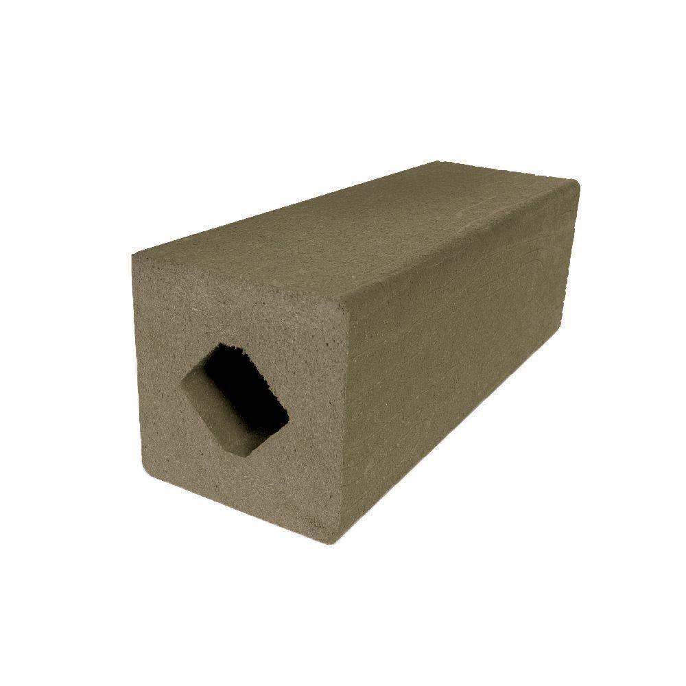 Vantage 4-1/4 in. x 4-1/4 in. x 51 in. Earthtone Solid