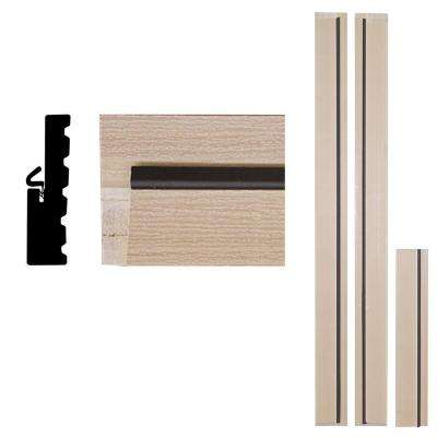 4Ever Frame 1-1/4 in. x 4-9/16 in. x 83 in. Primed Woodgrain Composite Door Frame Kit