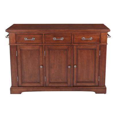 Country Vintage Oak Kitchen Large Kitchen Island