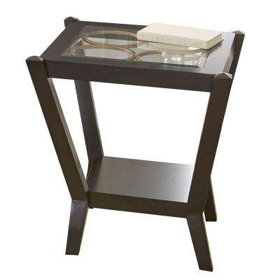 Doreen Ebony End Table