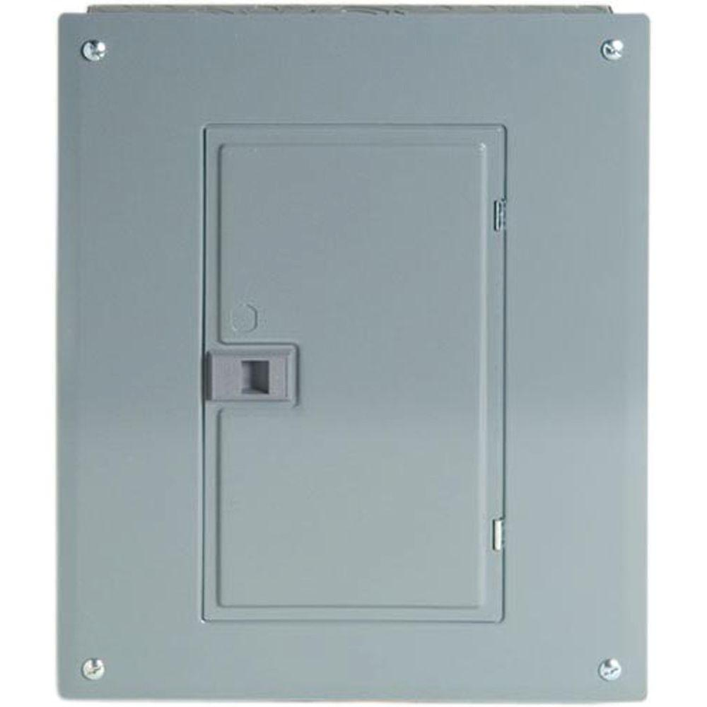 Square D Homeline 125 Amp 12-Space 12-Circuit Indoor Main Lugs Load Center with Cover