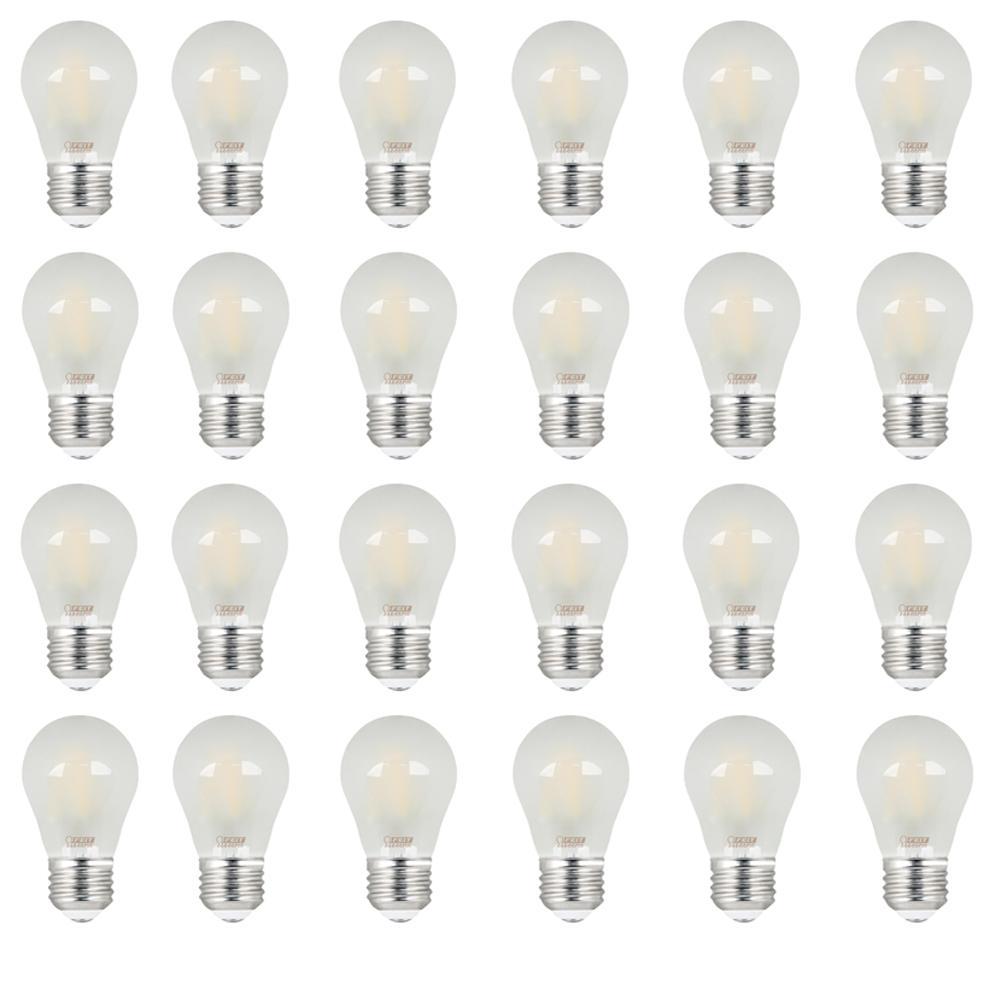 40w Equivalent Soft White Vintage Filament A19 Dimmable: Feit Electric 40W Equivalent Soft White (2700K) A15