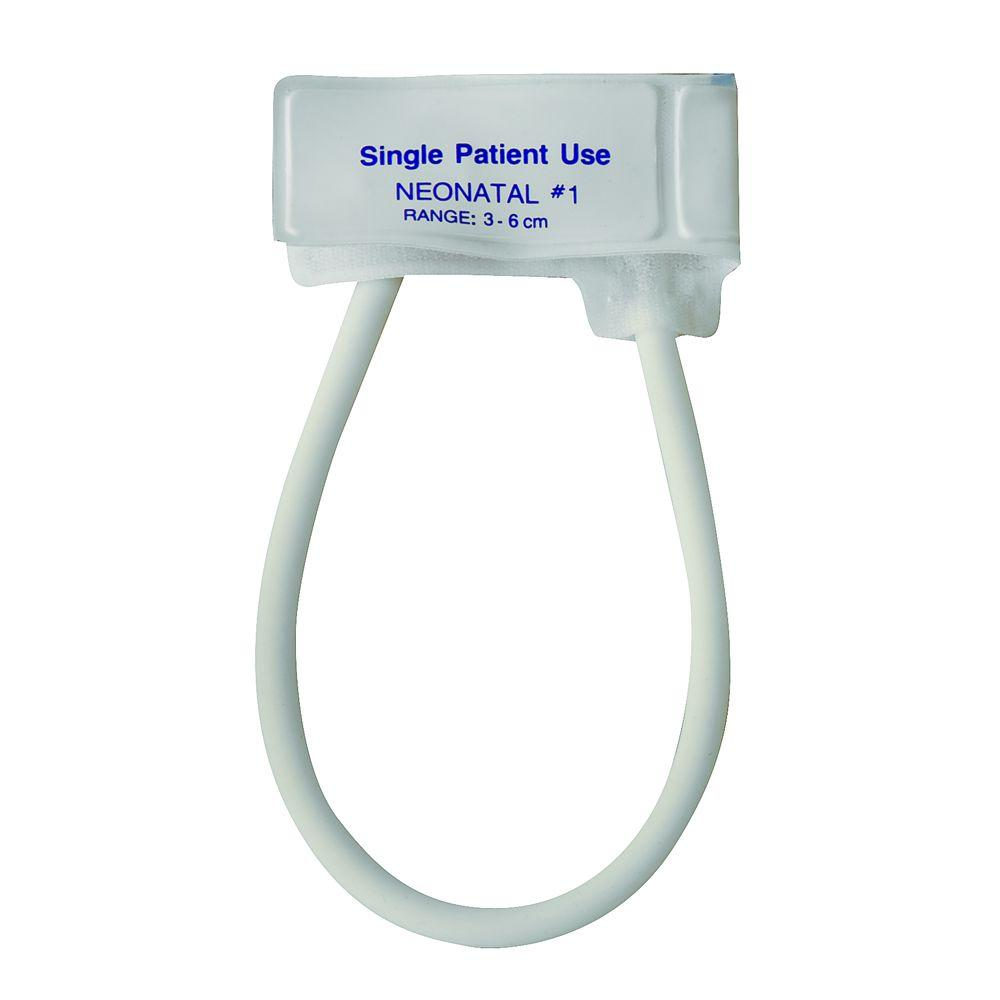 null MABIS Single-Patient Use Blood Pressure Neonatal Cuff with Single-Tube