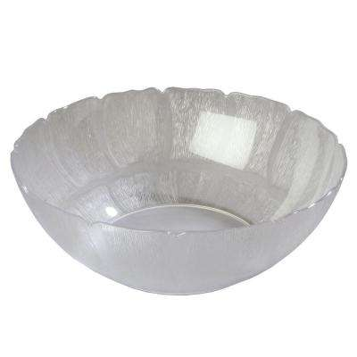 18 in. Diameter Polycarbonate Bowl Petal Mist in Clear (Case of 4)
