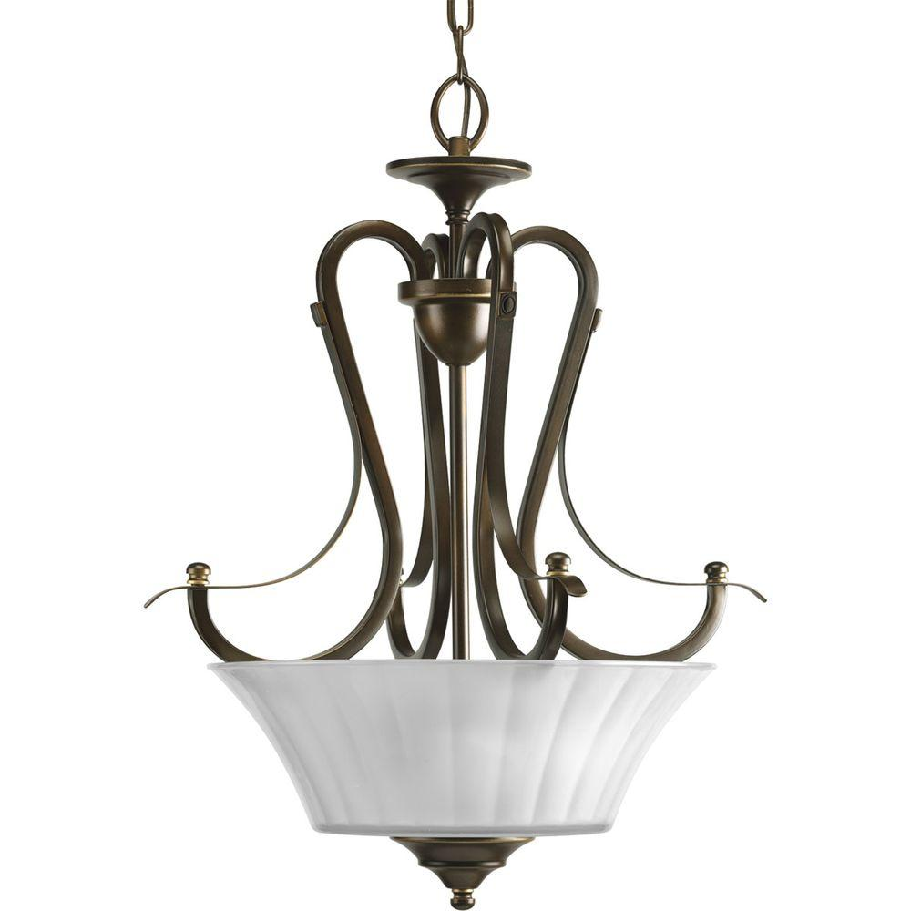 Progress Lighting Melody Collection Oil Rubbed Bronze 2-light Foyer Pendant-DISCONTINUED