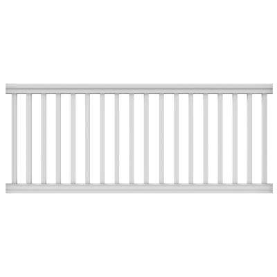 8 ft. x 36 in. Pro Rail White Handrail Kit