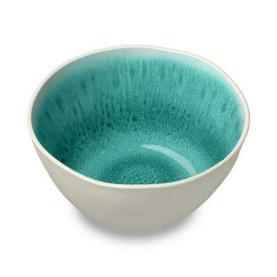 Organic Radiant Glaze Turquoise Bowl (Set of 6)