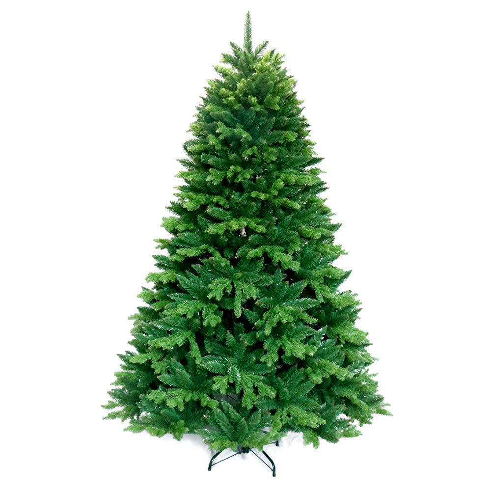 new style 84c90 2a937 ALEKO 7 ft. Unlit Artificial Christmas Tree