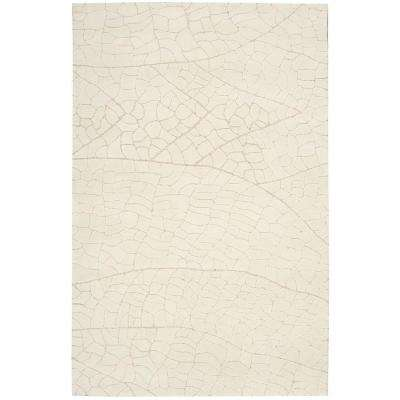Escalade Ivory 8 ft. x 11 ft. Area Rug
