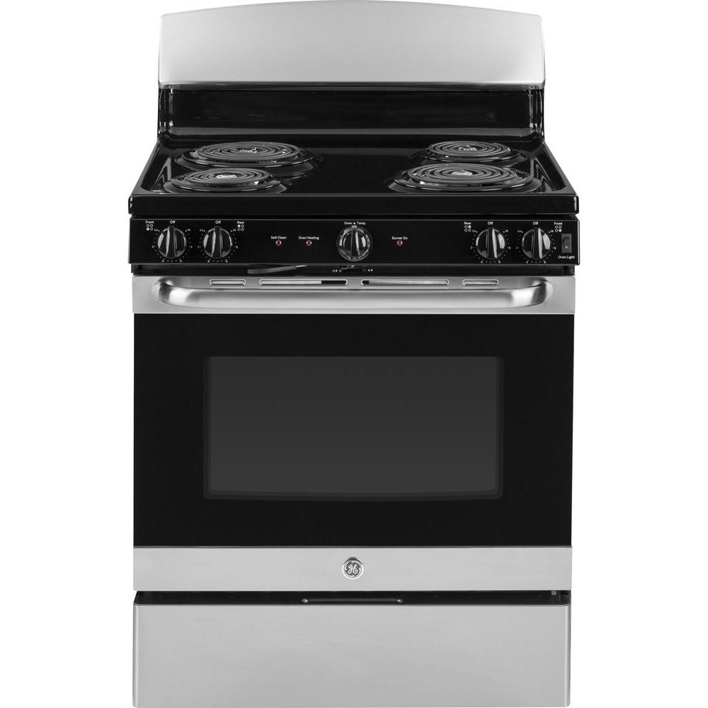 30 in. 5.0 cu. ft. Free-Standing Electric Range with Self-Cleaning Oven