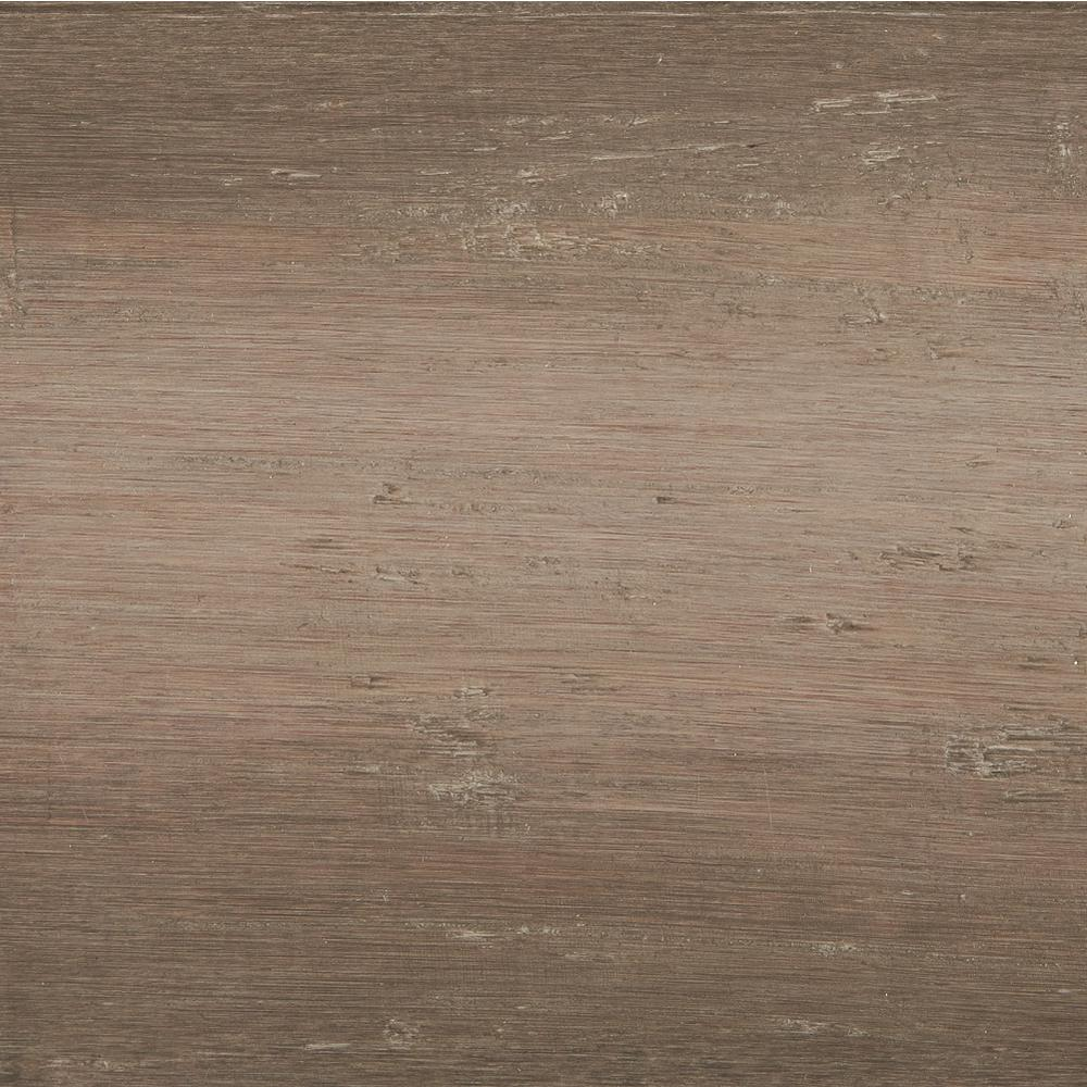 Home Legend Take Home Sample Strand Woven Mystic Grey Solid Bamboo Flooring 5 In X 7 In Hl