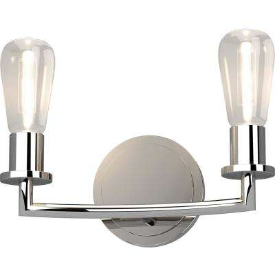 Sharyn 5.25 in. Chrome Sconce