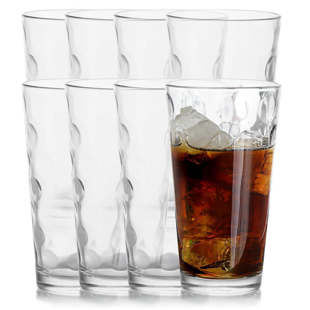 Space 16.75 oz. Cooler Glasses (8-Pack)