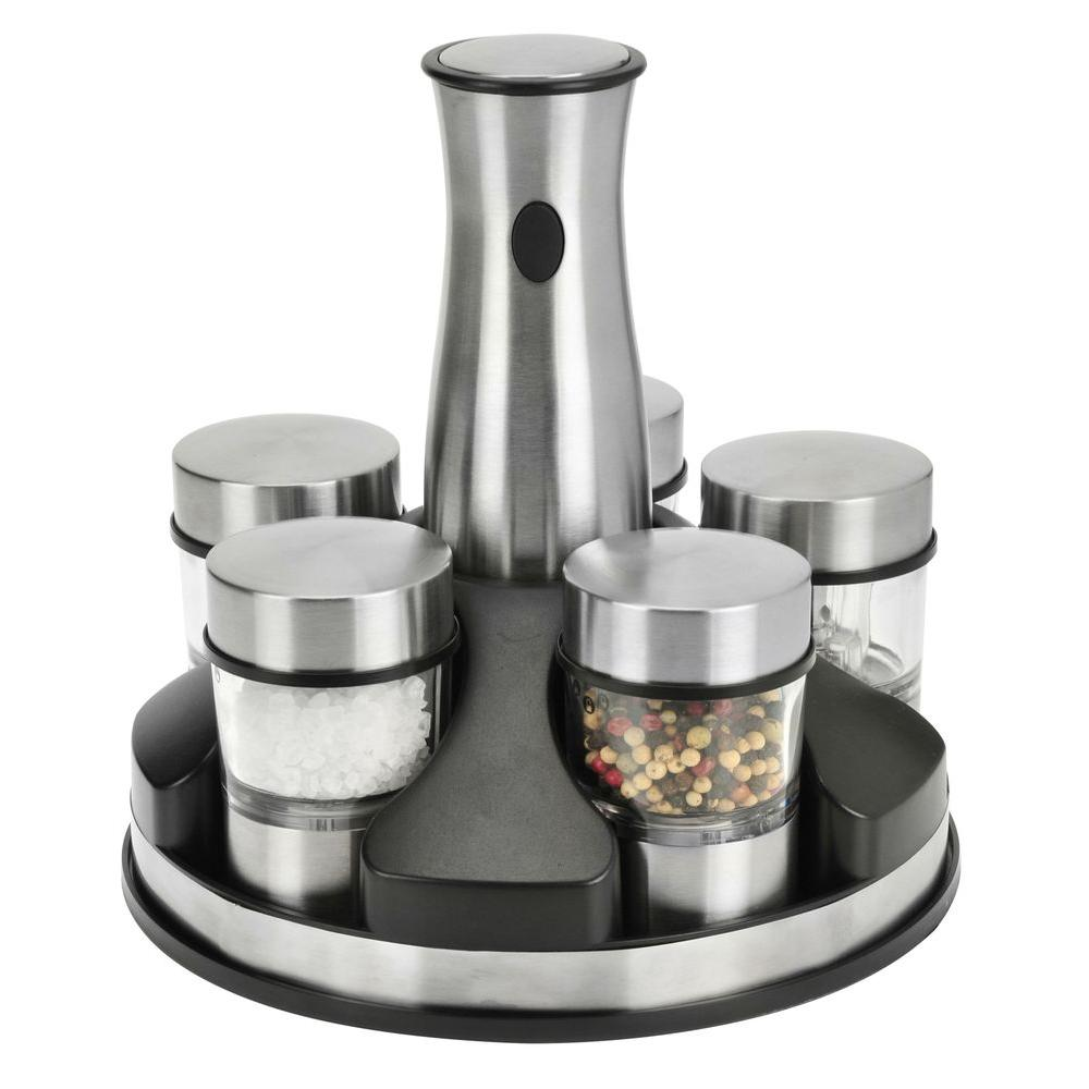 KALORIK Rechargeable Grinder and Spice Carousel