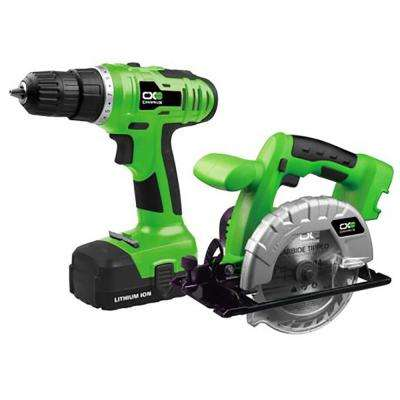 18-Volt Lithium-ion Drill and Circular Saw Combo Kit