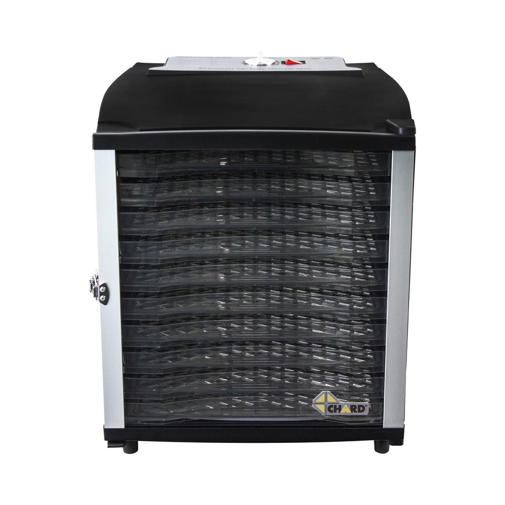 Chard Chard 10-Tray Black Food Dehydrator