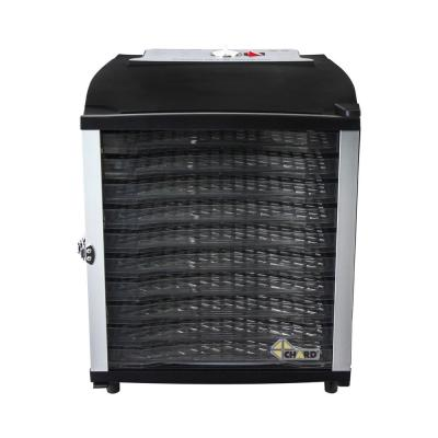 10-Tray Black Food Dehydrator