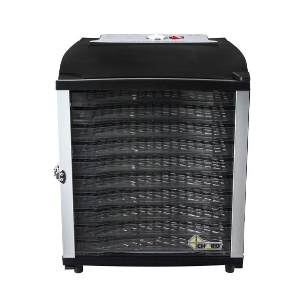 Chard 10-Tray Black Food Dehydrator DE-10