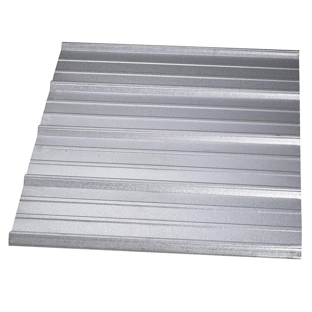 High Quality Gibraltar Building Products 36 In. X 196 In. 29 Gauge Galvanized Steel SM