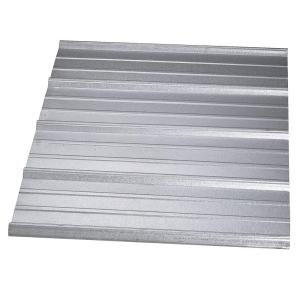 Gibraltar Building Products 16 Ft Sm Rib Galvanized Steel