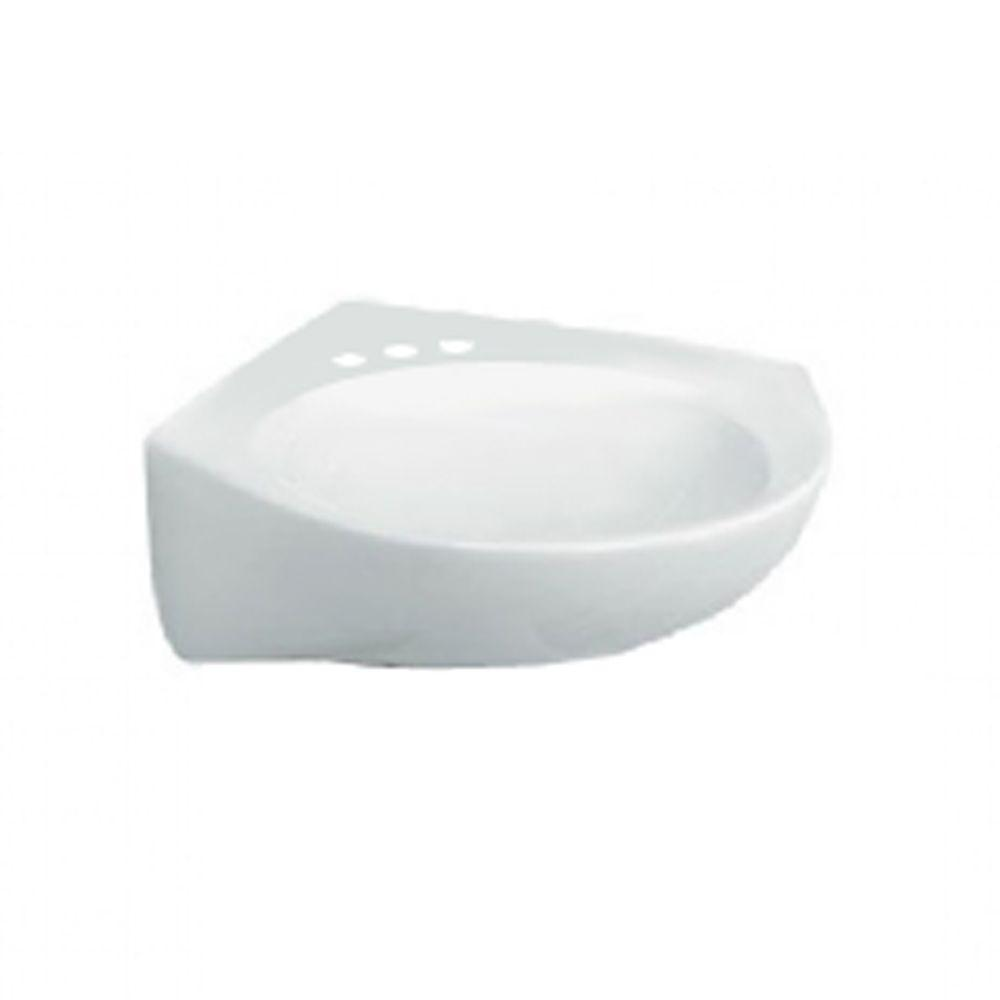 American Standard Cornice Wall-Mount Bathroom Sink in White