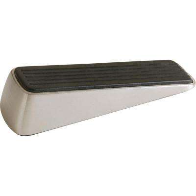 Designer Satin Nickel Door Wedge