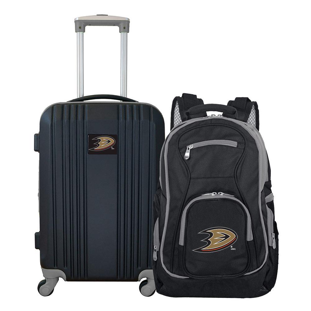 03358e1b1ad1 NHL Anaheim Ducks 2-Piece Set Luggage and Backpack