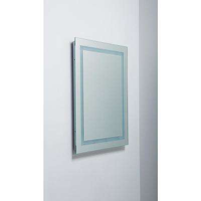 Portofino 32 in x 23.68 in. Backlit Wall Mounted LED Makeup or Vanity Mirror