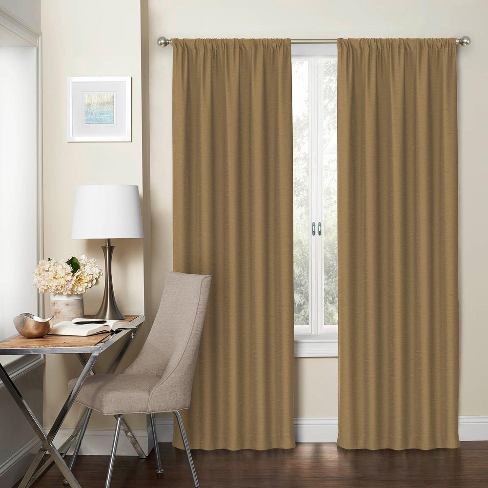Blackout Wallace  Rod Pocket Curtain