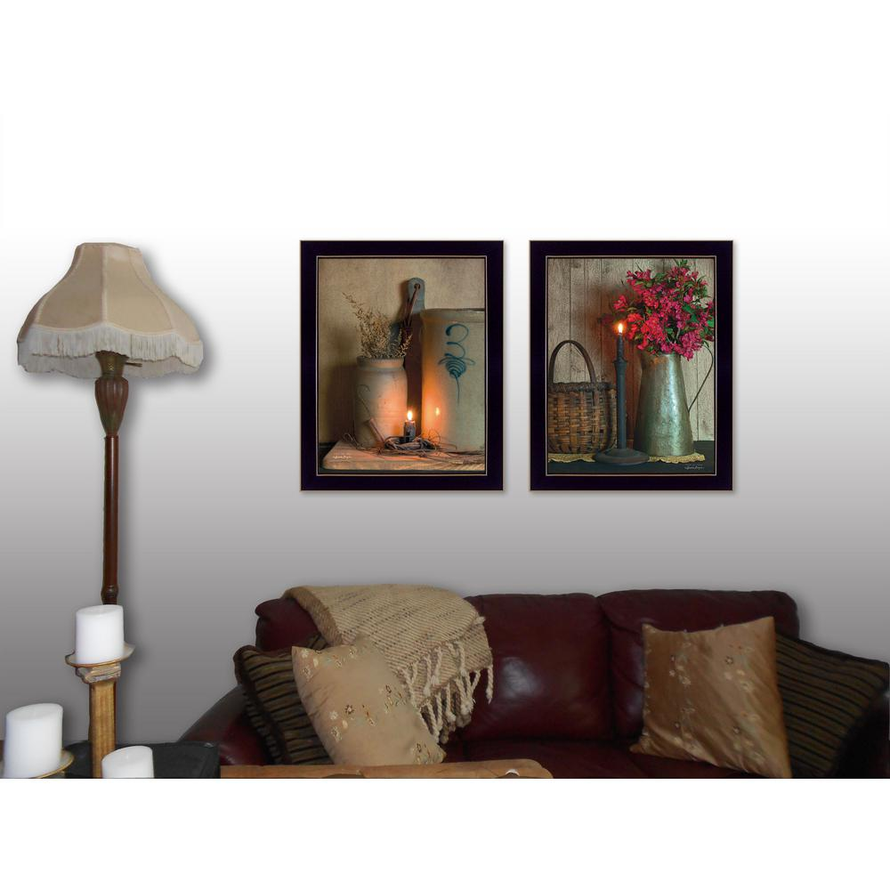 Trendydecor4u 18 in x 14 in country candlelight for The country home collection