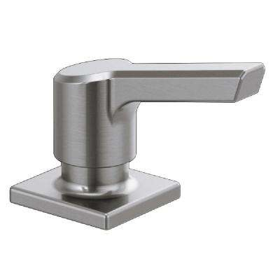 Pivotal Deck-Mount Soap and Lotion Dispenser in Arctic Stainless