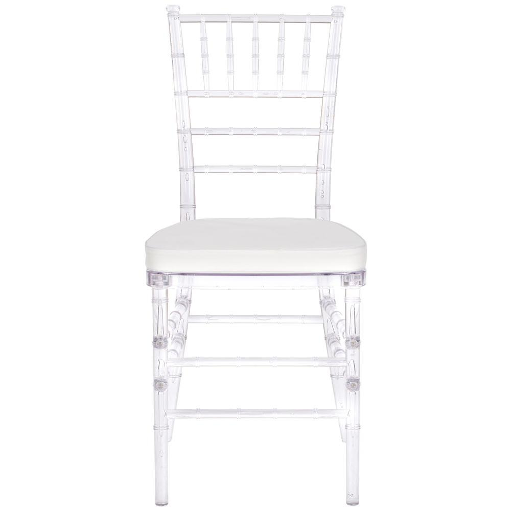 Safavieh Carly Clear Plastic Side Chair