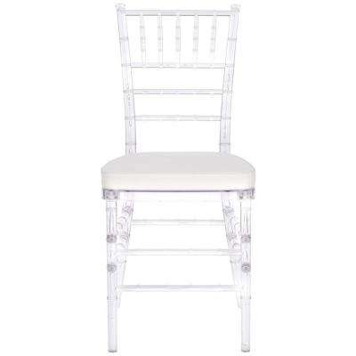Carly Clear Plastic Side Chair