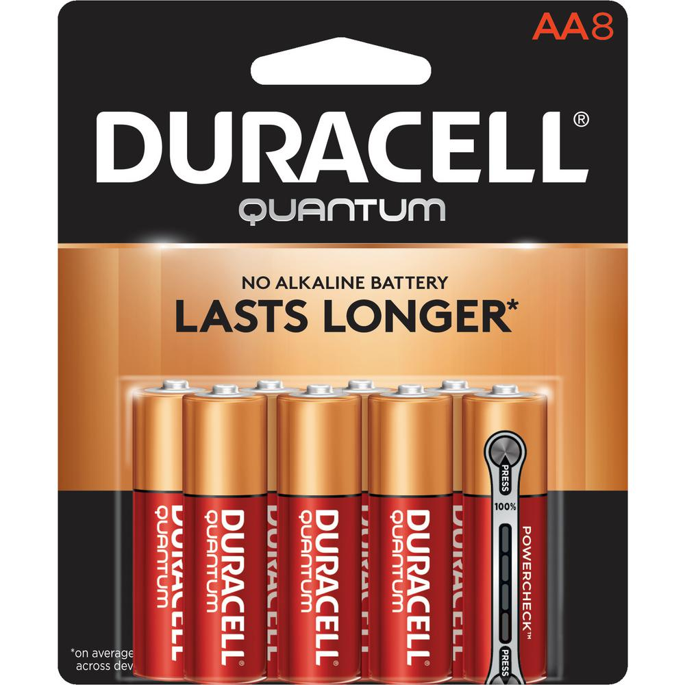 Quantum Alkaline AA Battery (8-Pack)