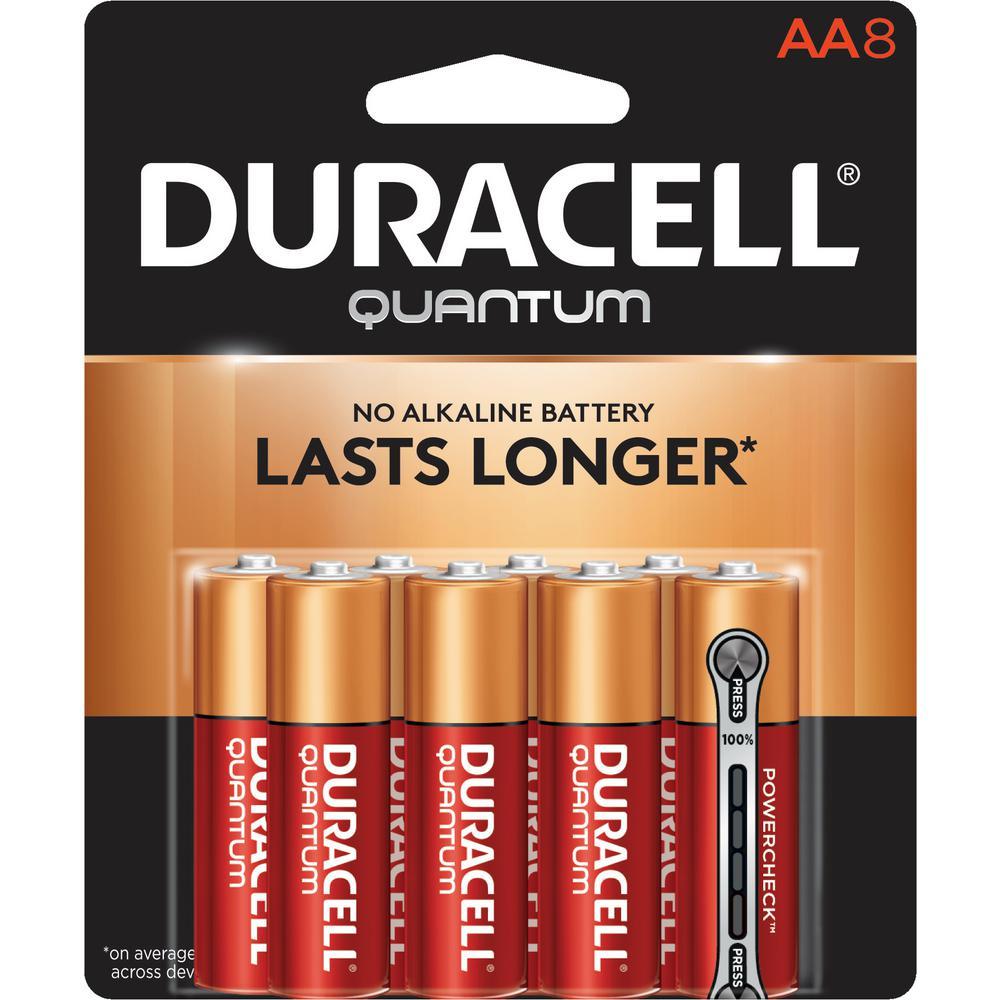 Quantum Alkaline AA Battery (8-Pack)