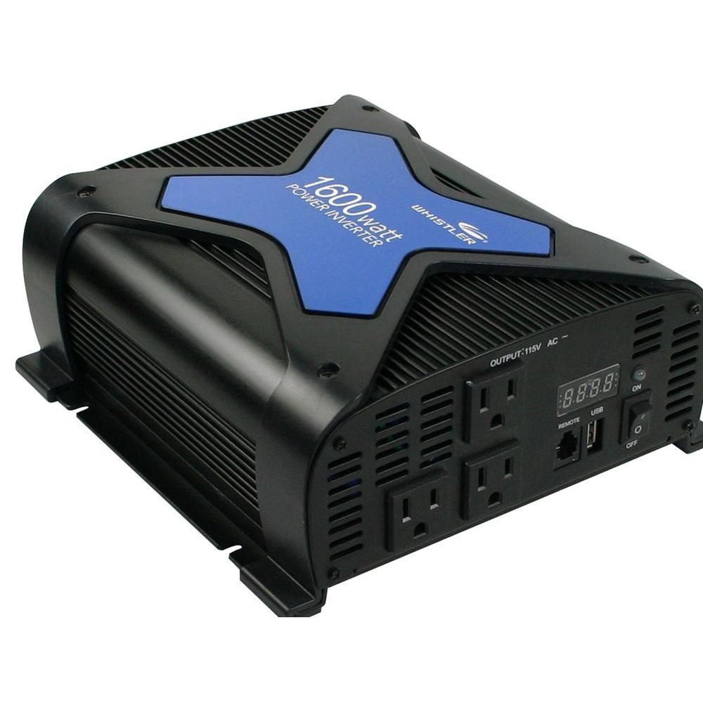 Whistler Pro-1600-Watt Po-Watter Inverter