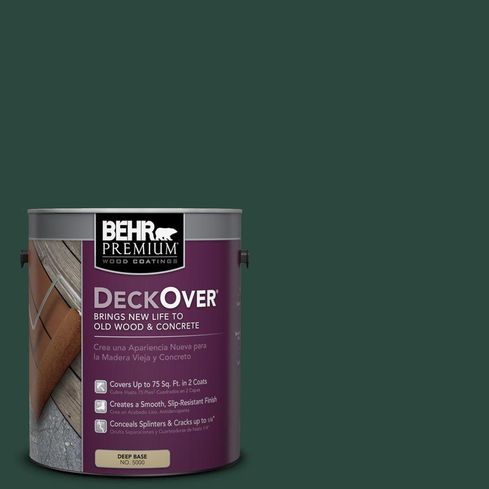 BEHR Premium DeckOver 1 gal. #SC-114 Mountain Spruce Wood and Concrete Coating