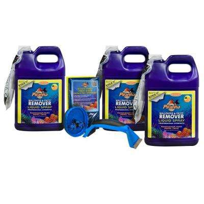3 gal. Piranha Liquid Spray Wallpaper Removal Kit for Large Sized Rooms