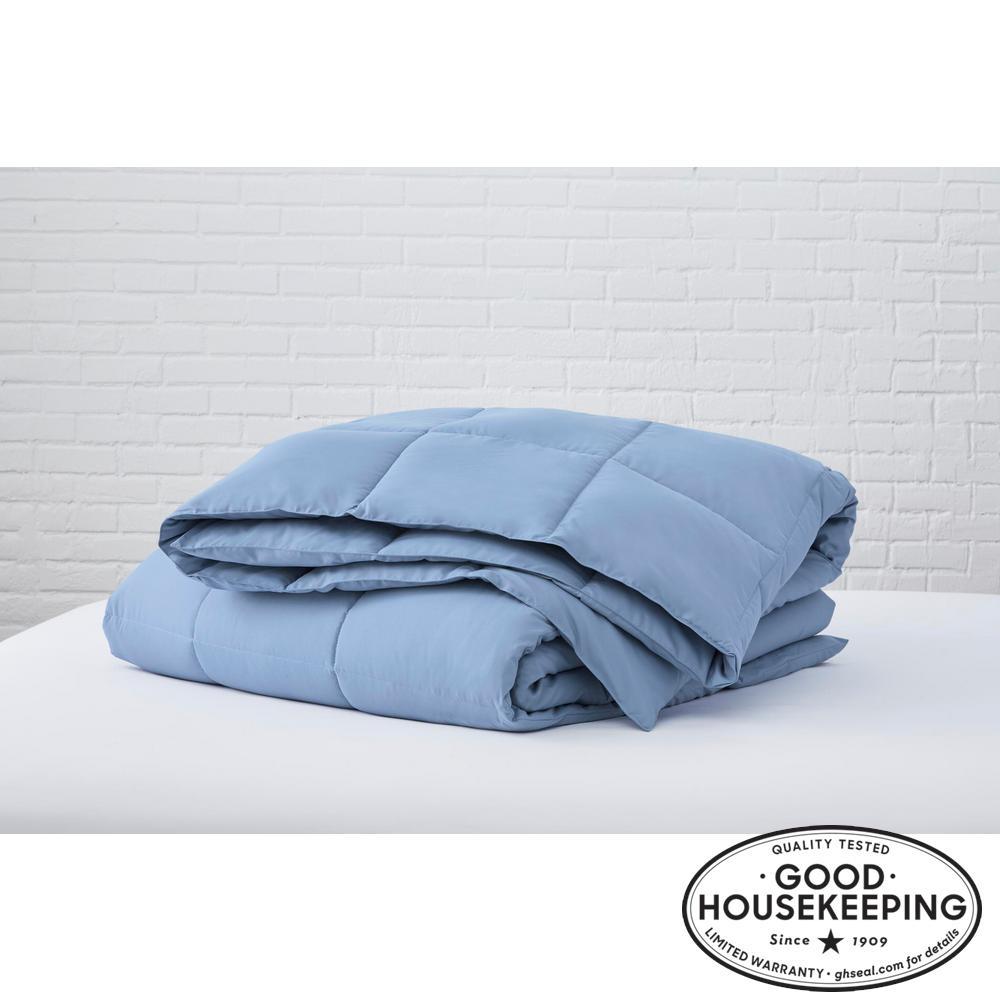 Washed Denim Microfiber Full/Queen Comforter