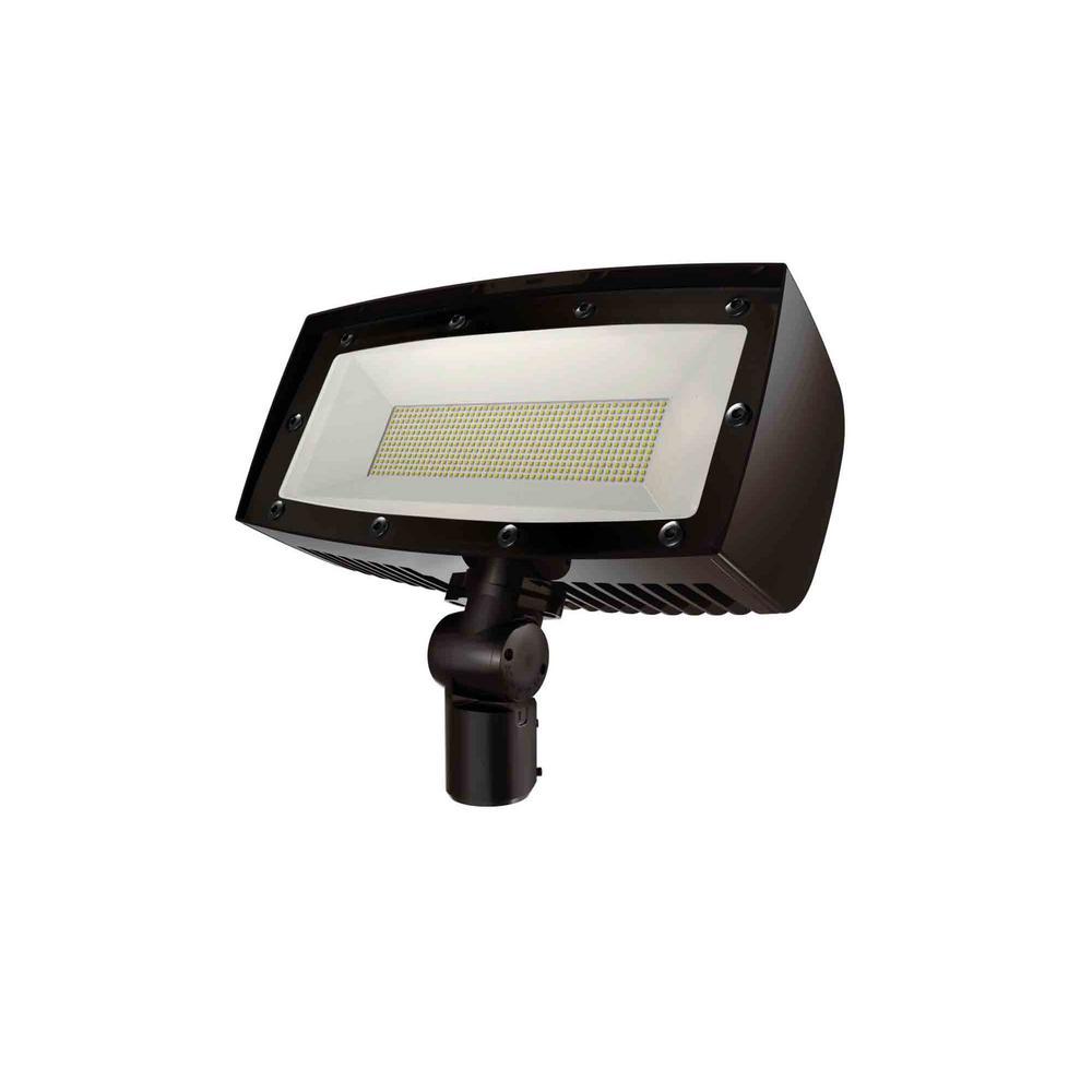 2400-Watt Equivalent Integrated Outdoor LED Flood Light, 36200 Lumens, Dusk to Dawn Outdoor Security Light